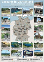 Nationale Geoparks Poster